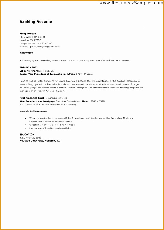 Resume Cover Letter Exles For Banking Entry Level Bank Teller Literature Review Employee