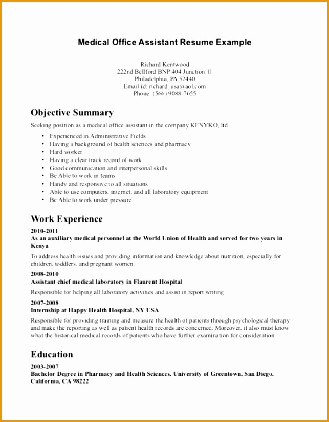 How To Write Curriculum Vitae For Summer on