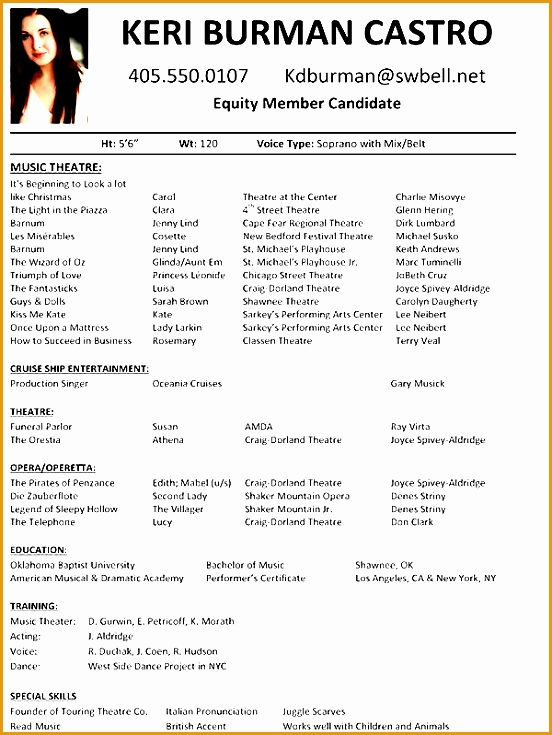 7 sample of comprehensive resume