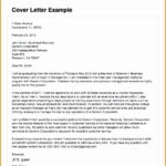 8 Sample Resume Cover Letter for Applying A Job