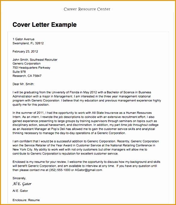 8 Sample Resume Cover Letter For Applying A Job