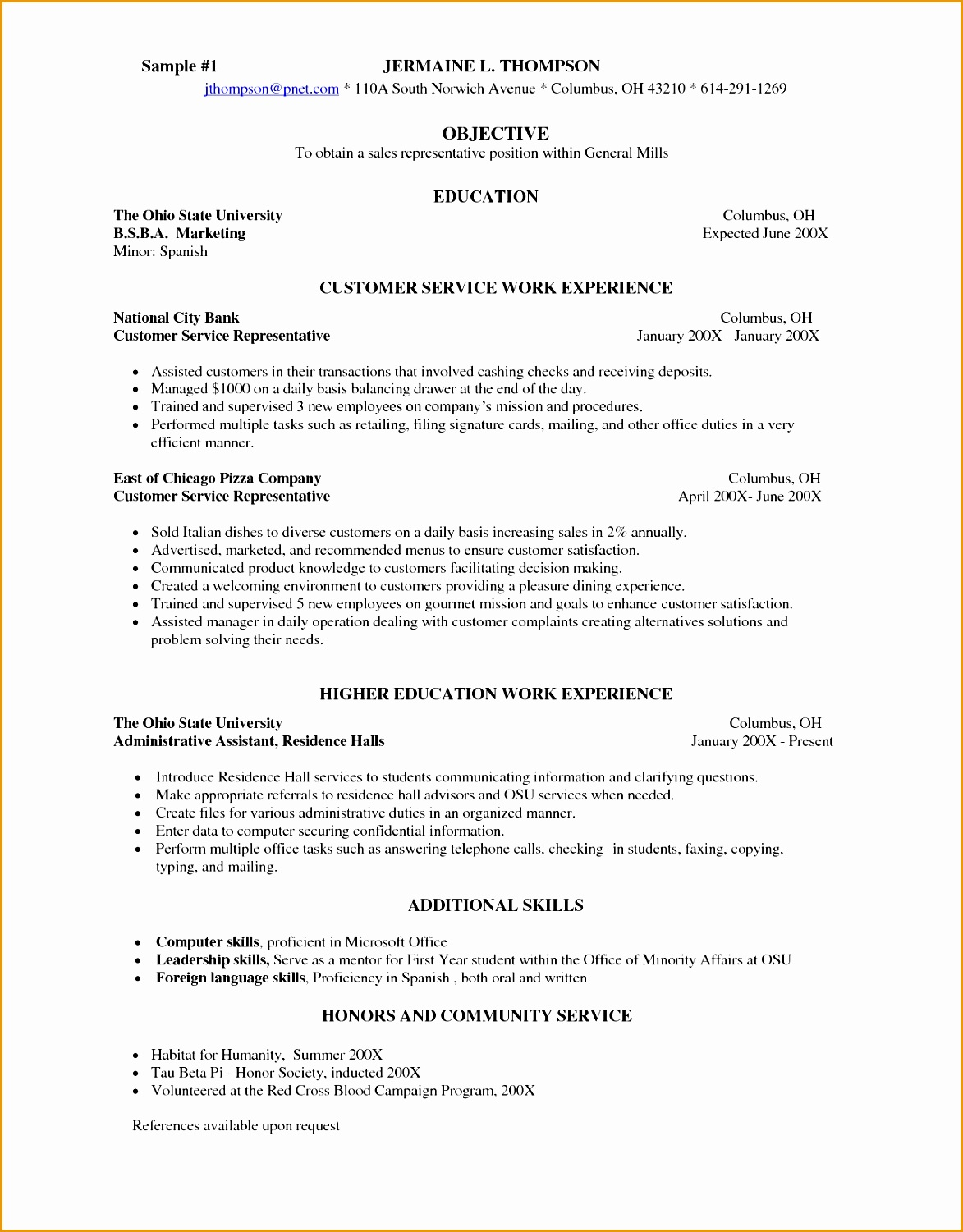 sample pitch for resume servers job description for resume photo