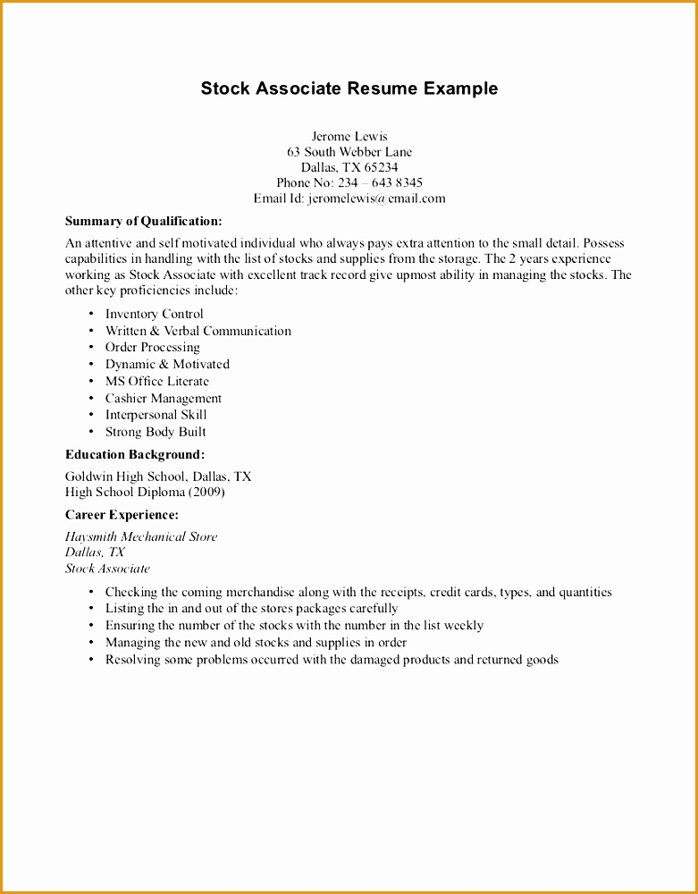 Student Resume Examples No Experience W6oat Lovely Resume Examples No Experience