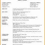 8 Undergraduate Students Resume Sample