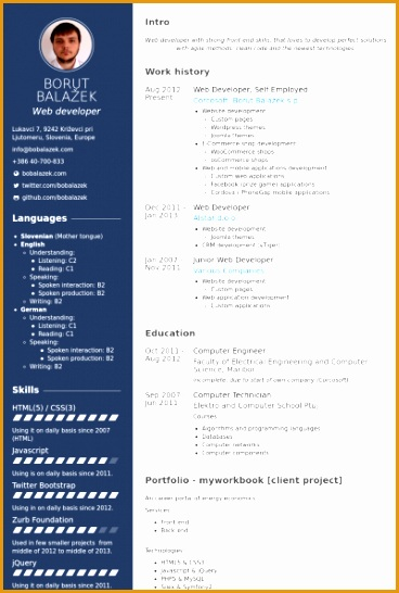 Web Developer Self Employed Resume samples546368