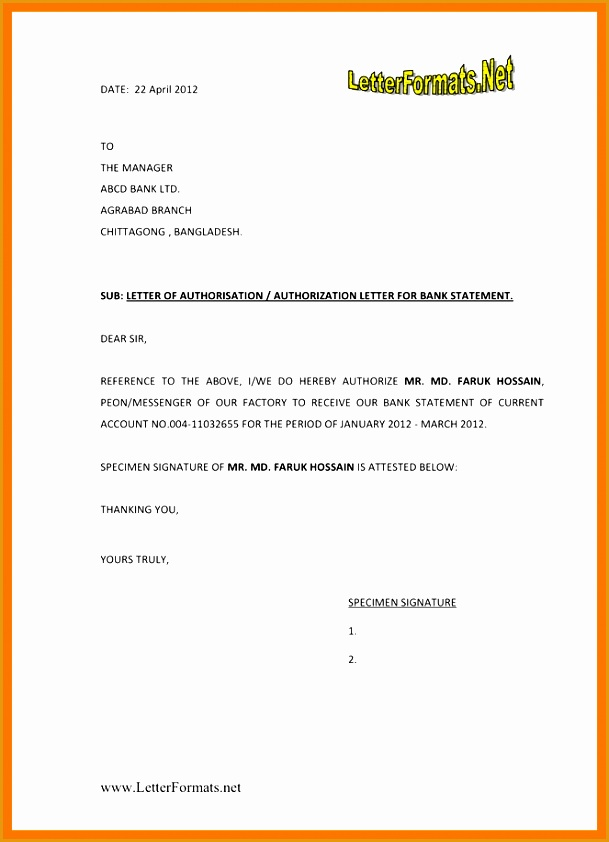 6 authorisation letter to bank842609