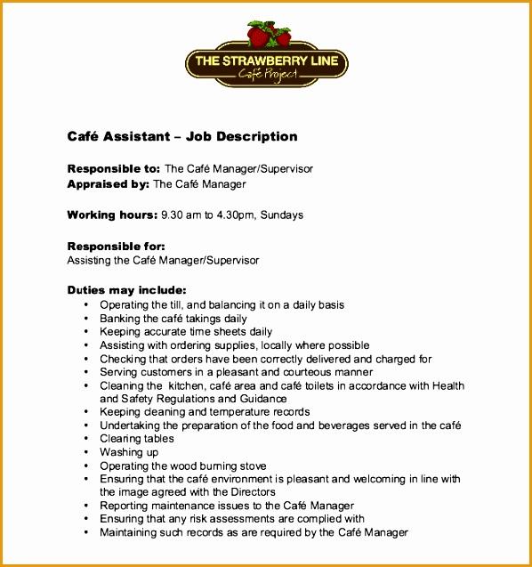 cafe assistant job description637598