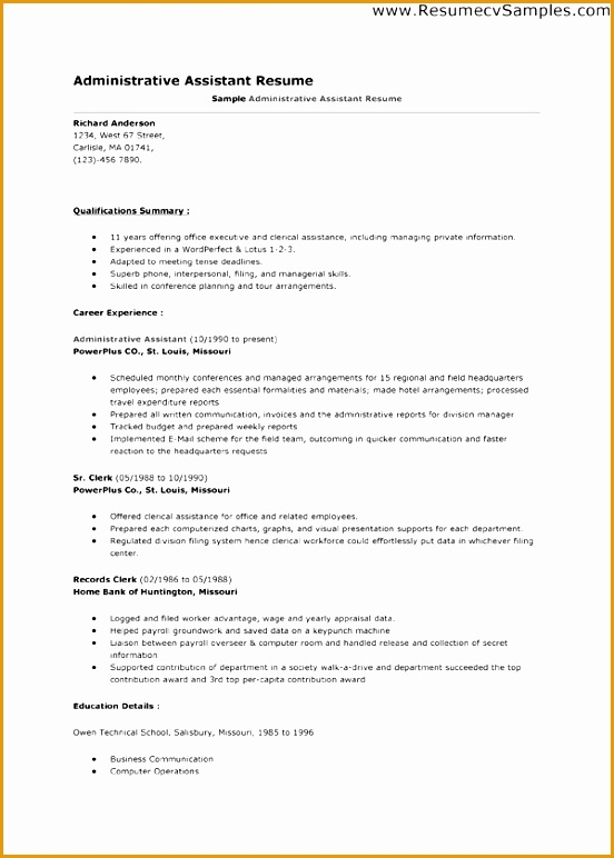 google resume template772552