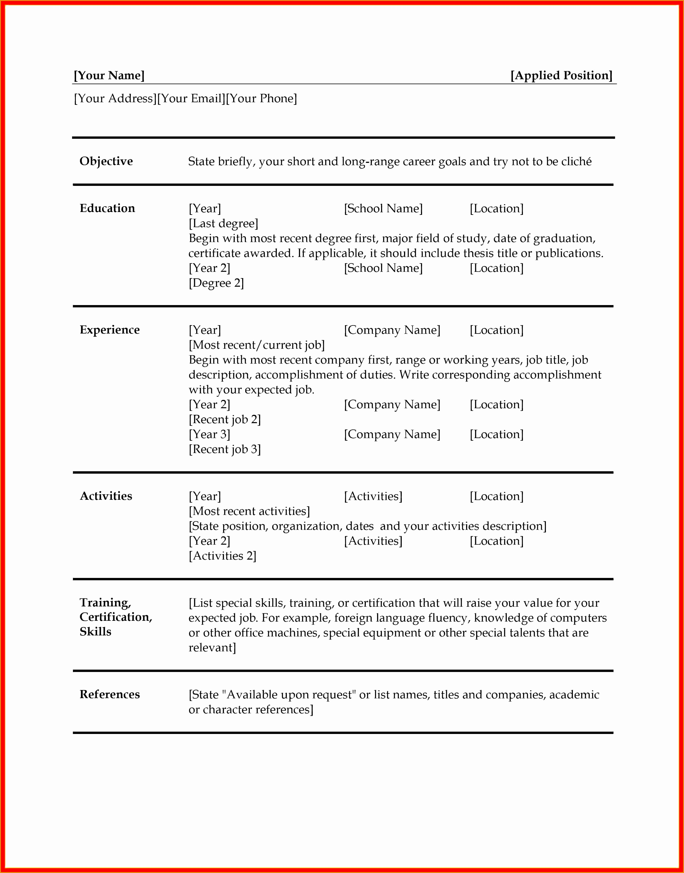 7 administrative resume templates word