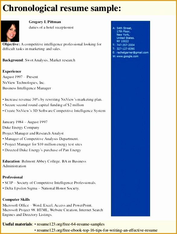 top 8 duties of a hotel receptionist resume samples774586
