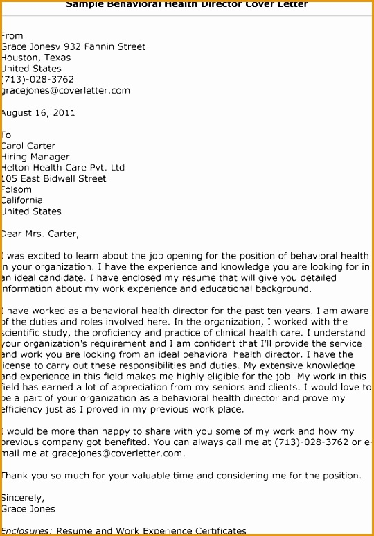 mental health counselor cover letter773540