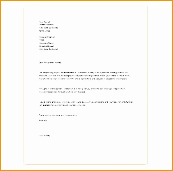4 Basic Cover Letter for Resume - Free Samples , Examples ...