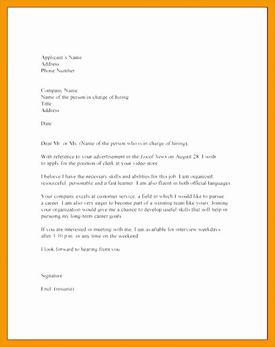 8 basic cover letter format716566