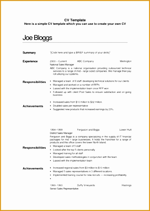 basic summary for a resume682487
