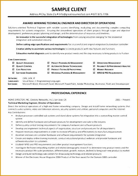 technical skills resume example 1662720563