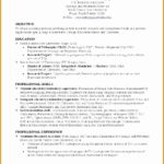 6 Blank Resume Template for High School Students
