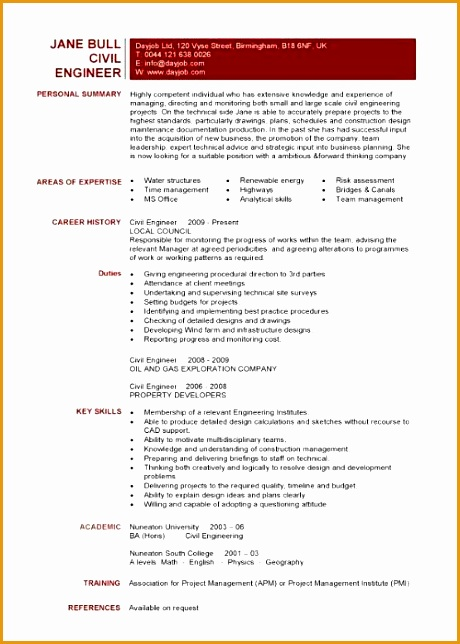 professional resume for engineers644460