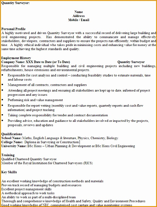 5 Civil Engineer Job Description Resume Free Samples