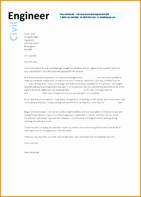 cover letter for civil engineer resume644460
