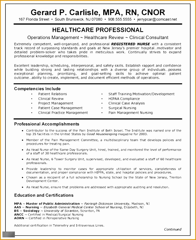 nurse practitioner resume examples922752