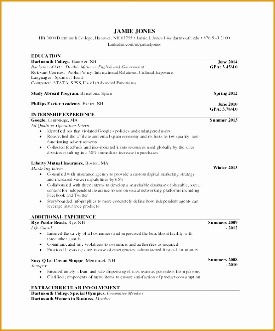 6 Comprehensive Resume Sample Free Samples Examples