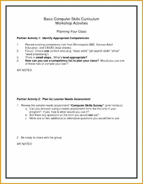 the amazing basic puter skills resume637496