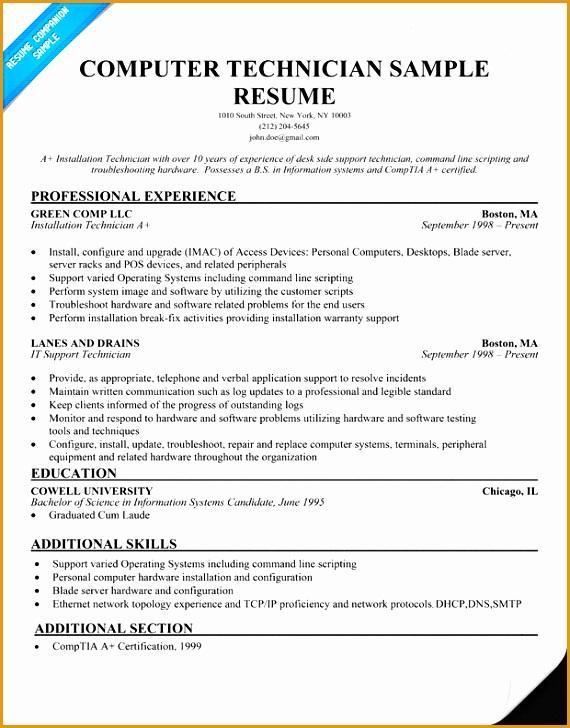 puter technician resume728570