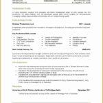 7 Correspondent Resume Example
