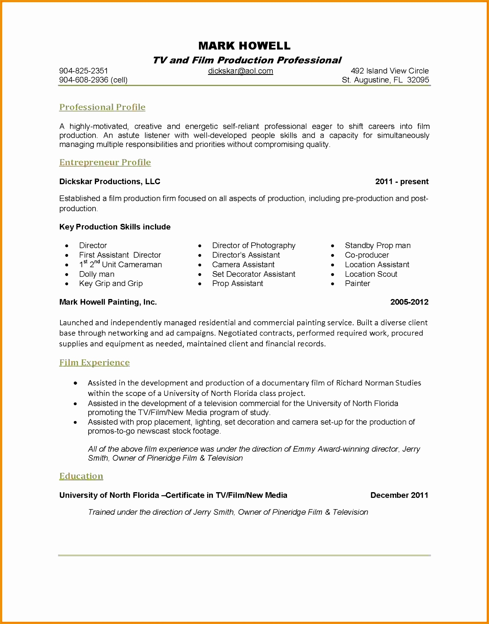 7 key qualifications resume20161578