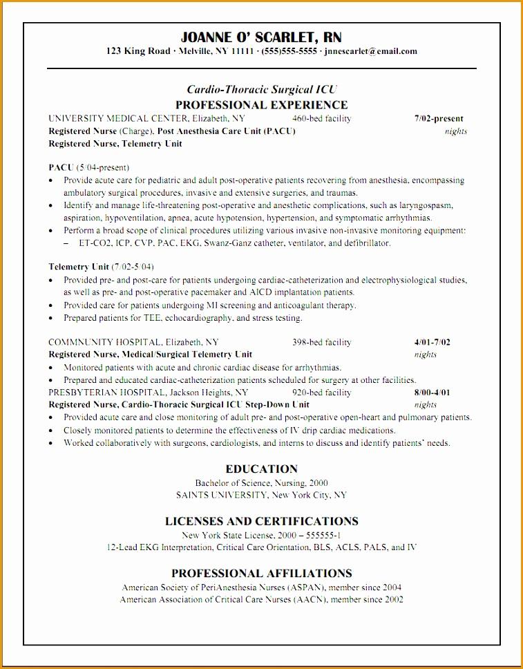 chronological resume cv blue line968757