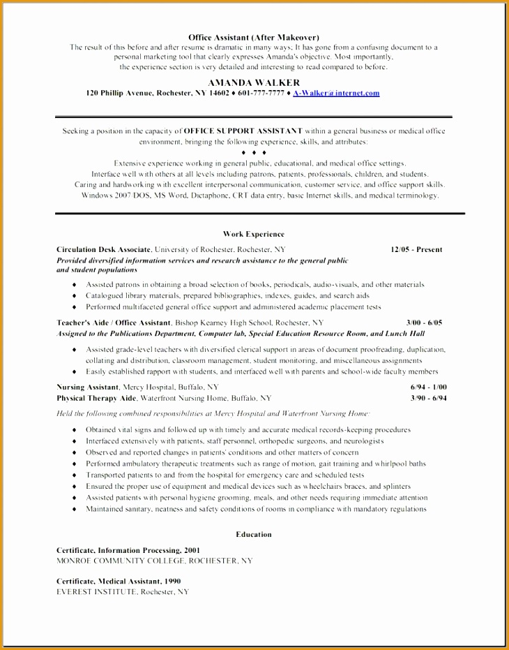 office resume objective format for boy job medical assistant duties931730