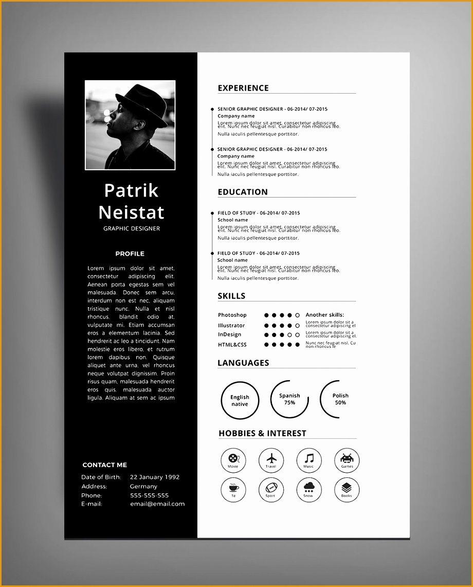 5 Creative Design Resume Templates Free  Free Samples , Examples u0026 Format Resume / Curruculum