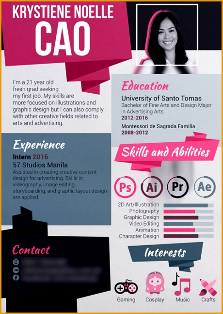 20 newest creative resume designs for inspiration 2017647460