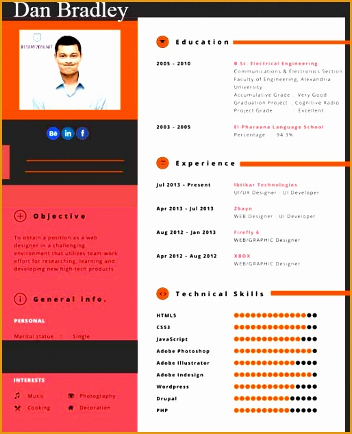 20 awesome resume templates 2016633514