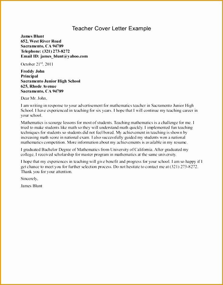 sample teacher cover letter format942736