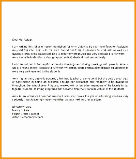 9 Elementary Teaching Cover Letter