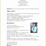 7 Entry Level Resume Template Free