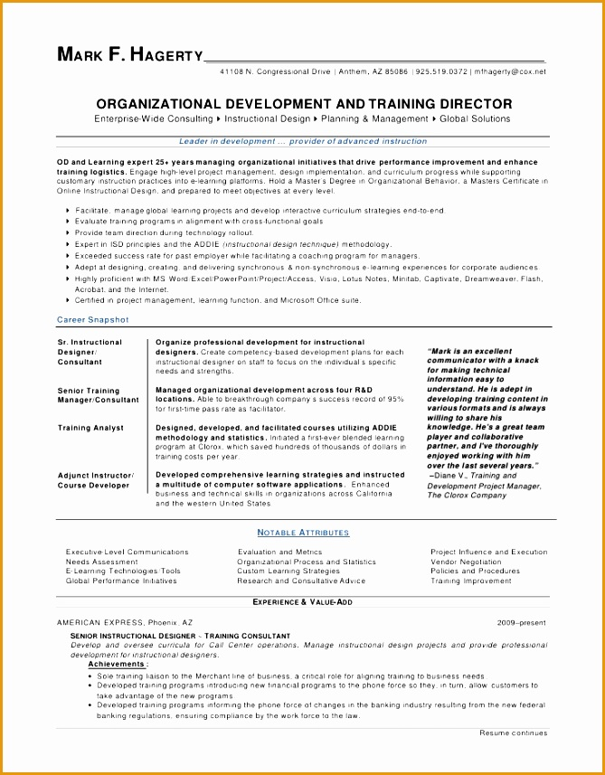 mark f hagerty od training director resume857669