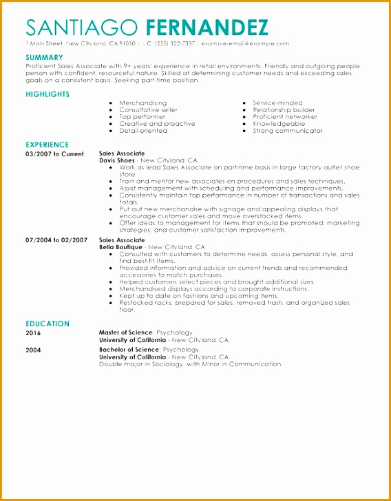 retail resume template job 2016728568