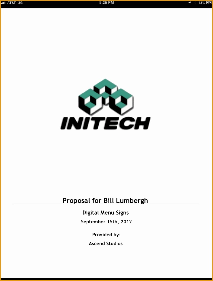 proposal cover sheet template931706