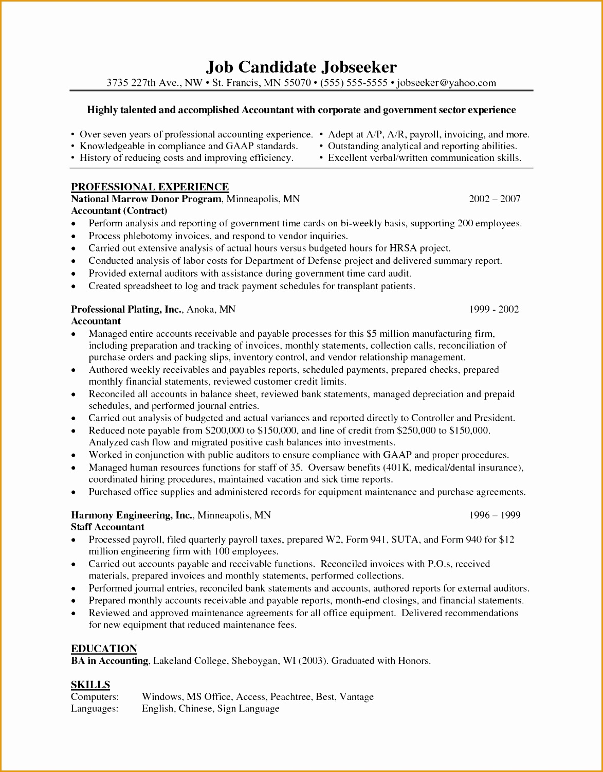 50 phlebotomist resume sample15011173