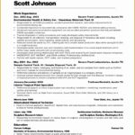 4 Free Cosmetology Resume Sample