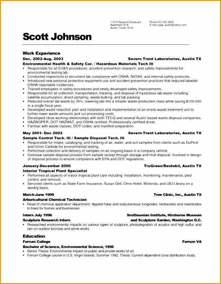 apartment maintenance technician resume sample931727