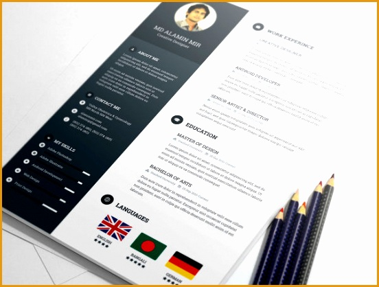 20 free resume design templates for web designers418552