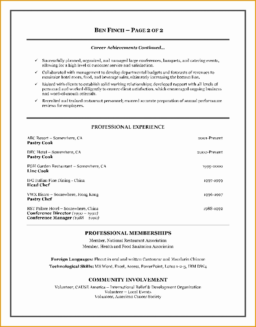 7 free hospitality resume template free samples. Black Bedroom Furniture Sets. Home Design Ideas