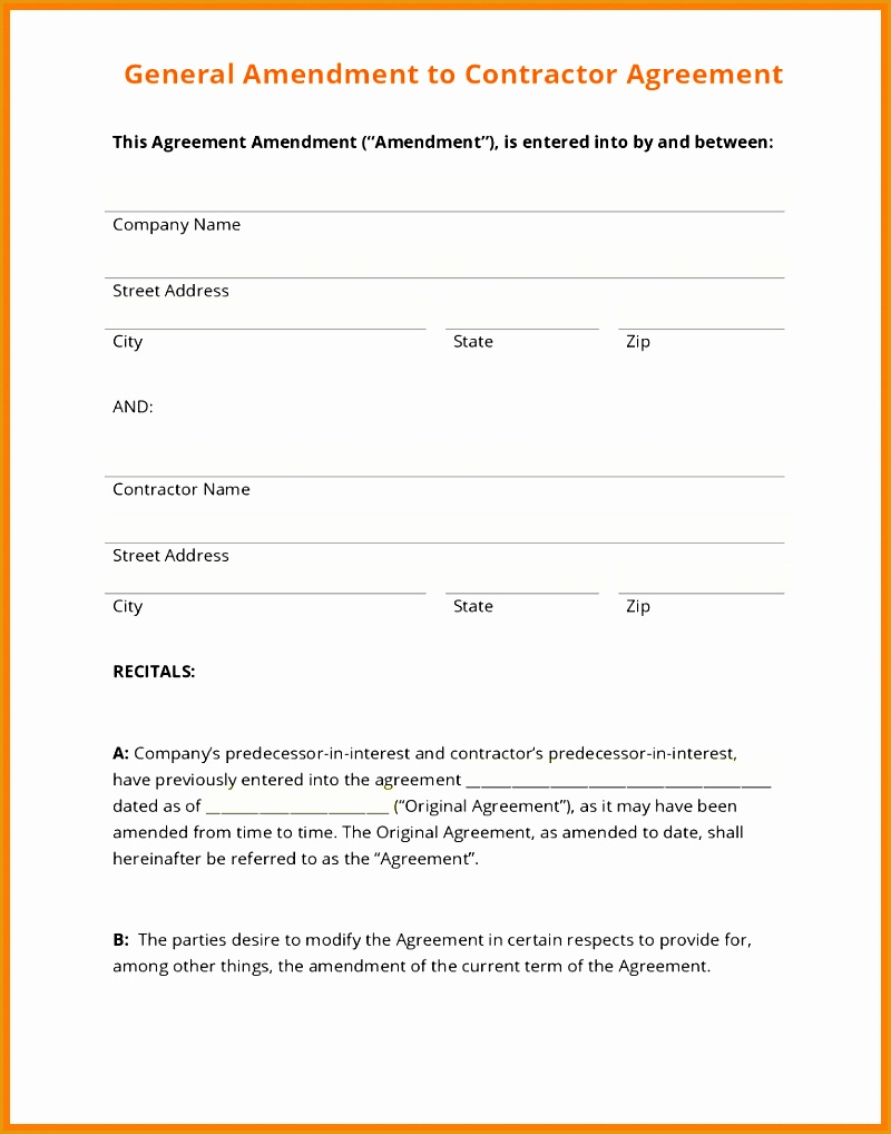 10 general contractor contract template1018800