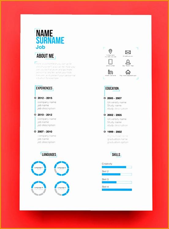 resume templates modern 15 free elegant modern cv resume templates psd freebies template748552