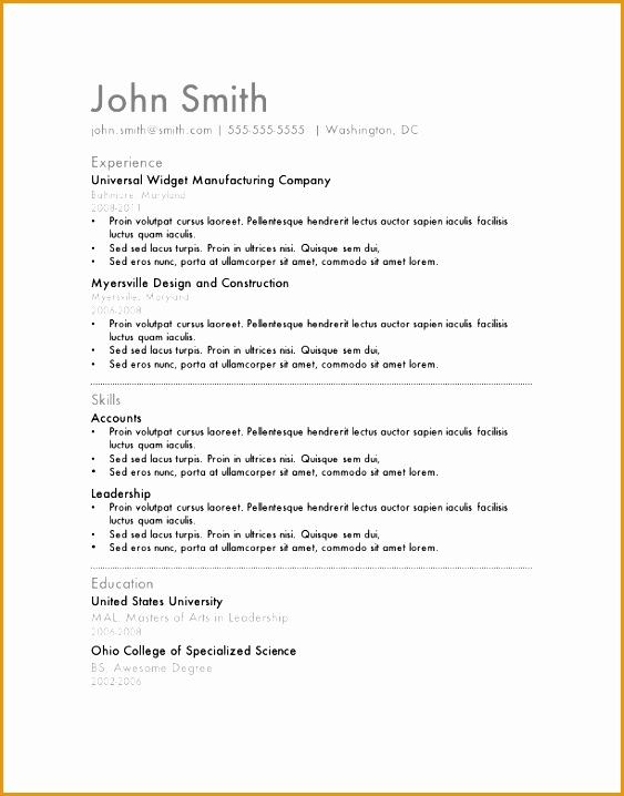 Should I Use A Template For My Resume Site