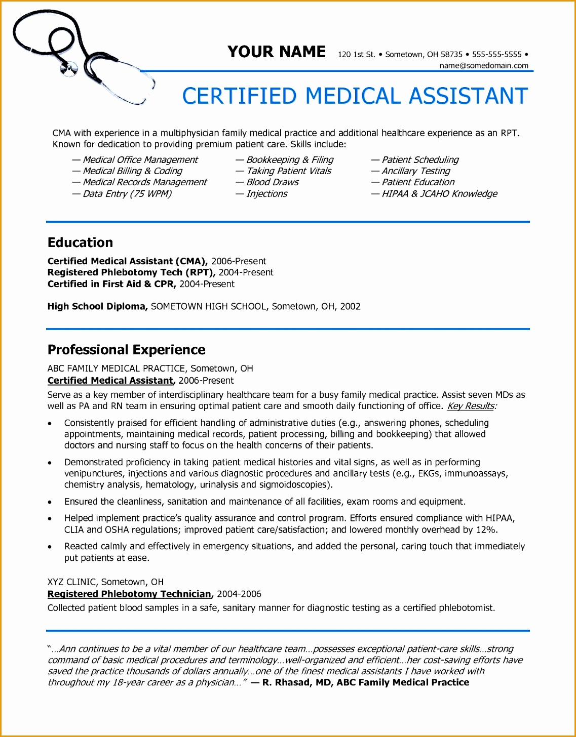 sample resume for nursing superintendent sample resumes collection within samples of resumes14561137