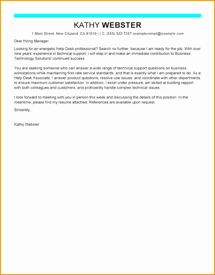help desk cover letter sample941736
